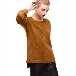 Aritzia Wilfred Isabelli Knit Sweater